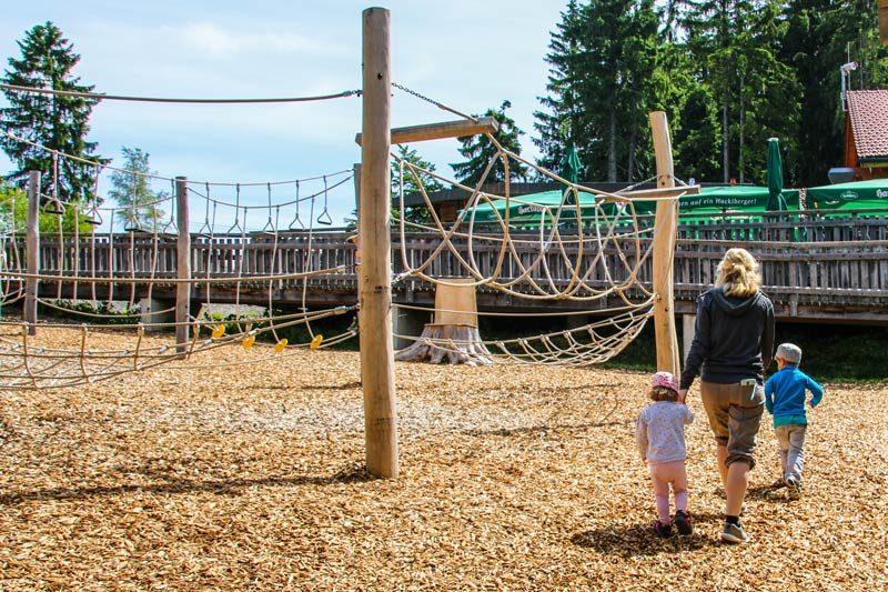 Waldwipfelweg Sankt Englmar - Spielplatz