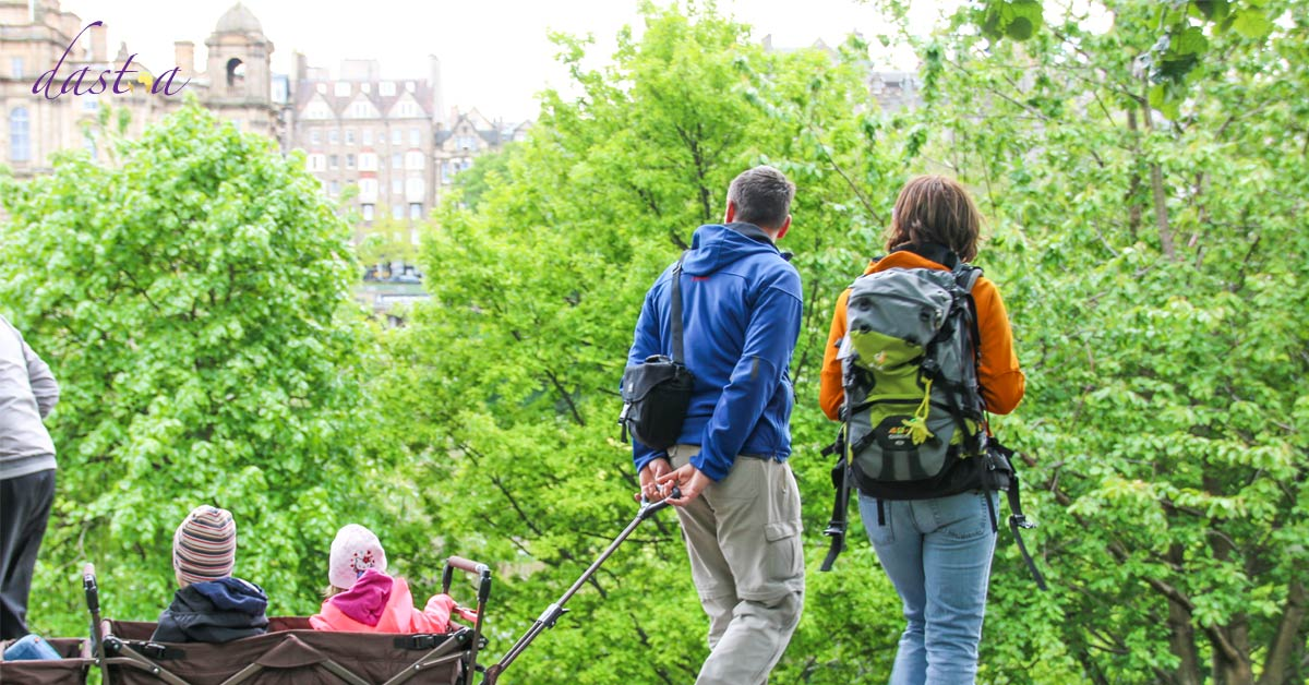Kurztrip Edinburgh mit Kindern