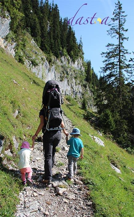 Familienwanderung - Wandern mit Kindern