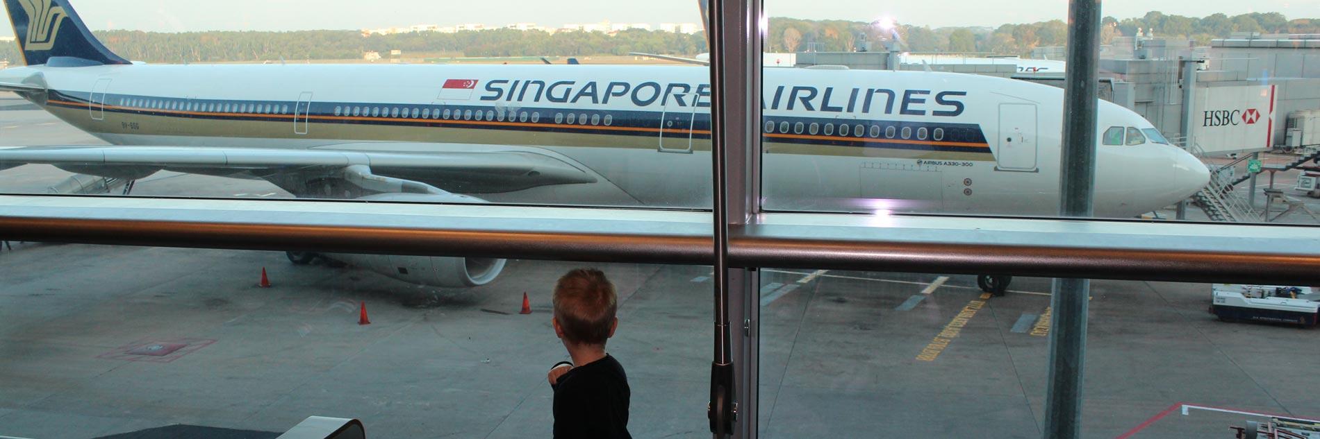Flug nach Australien