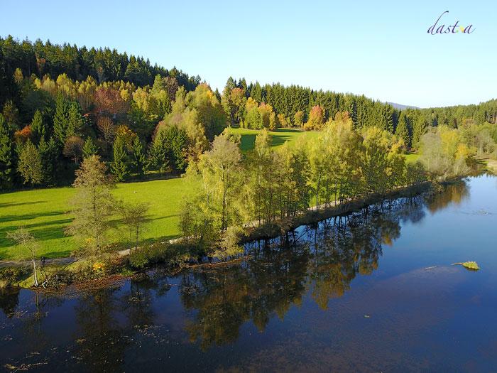 Herbstausflug - Flusswanderweg am Regen
