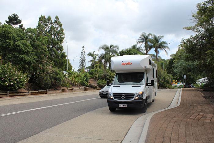 Wohnmobil mit Kindern in Australien