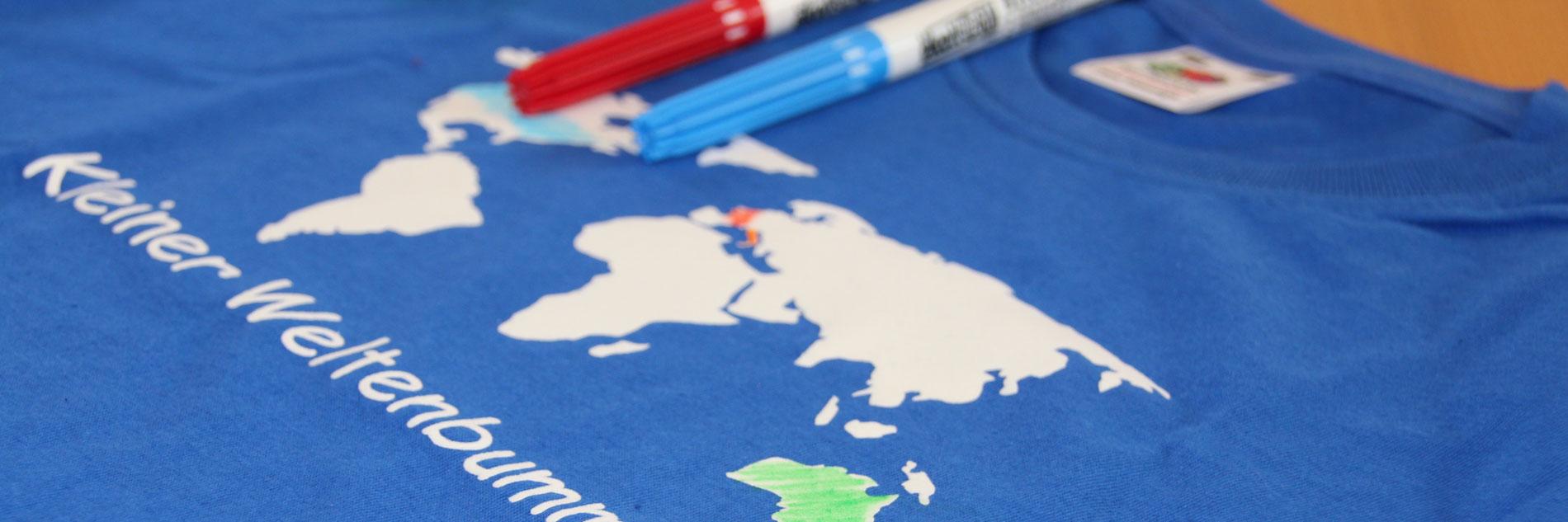Weltenbummler T-Shirt - Deine Reisestory
