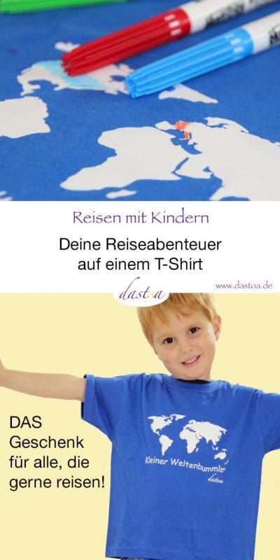 Kleiner Weltenbummler - Kinder T-Shirt