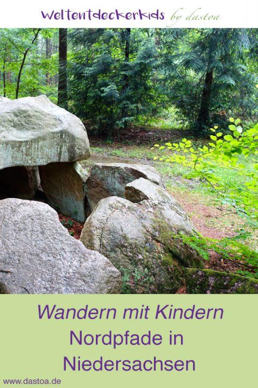 Nordfade - Wandern mit Kindern in Norddeutschland