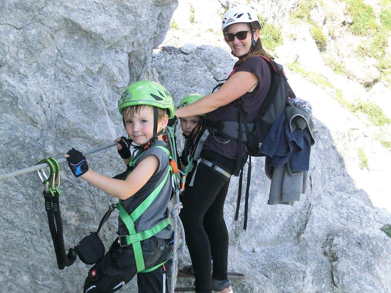 schöner Klettersteig - das packen wir