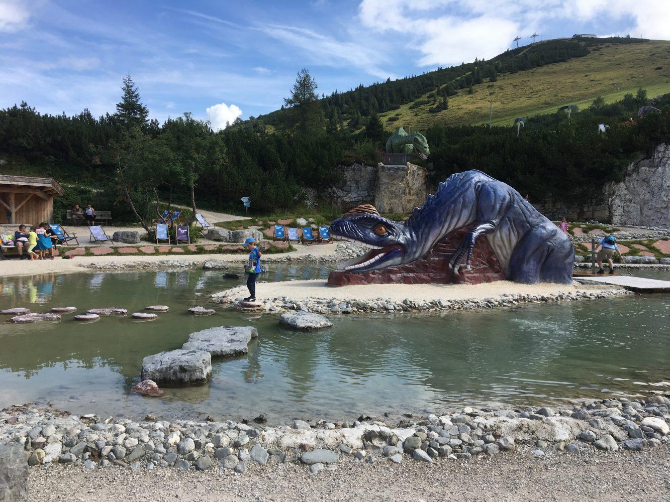 einer der schönen Wasserspielplätze