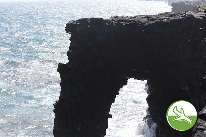 Hawai'i Volcanoes National Park - Hōlei Sea Arch