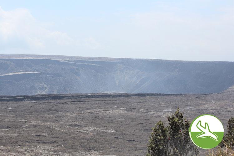 Hawai'i Volcanoes National Park - der Krater
