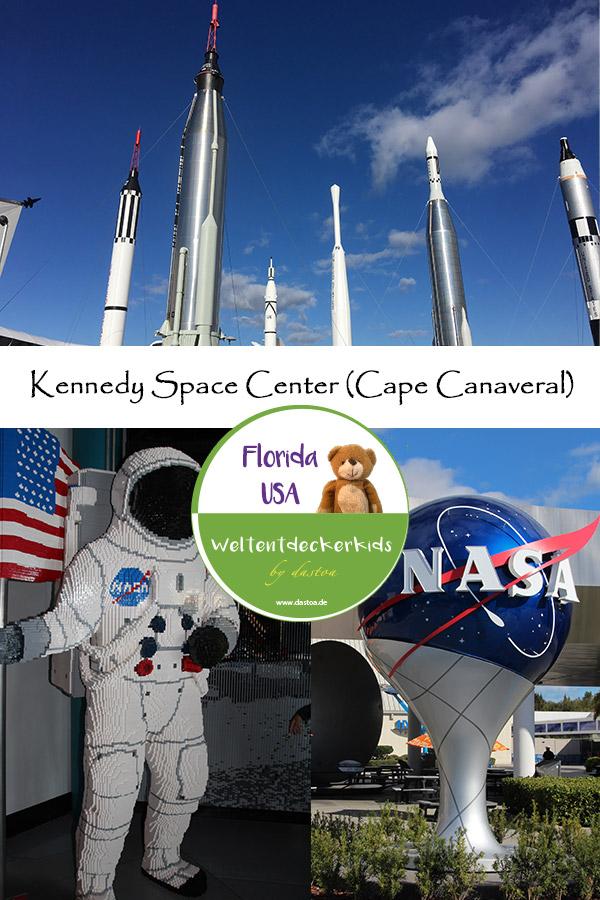 Kennedy Space Center mit Kindern - Pin it!