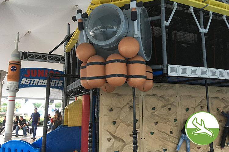 Astronautenspielplatz: Kennedy Space Center mit Kindern